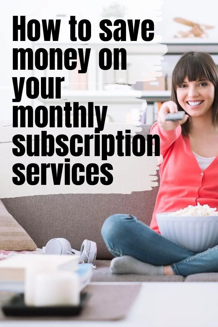 If you love subscription based services like Netflix, Hulu or Amazon Prime, you're not alone. But you might be paying too much! Here's how to save!