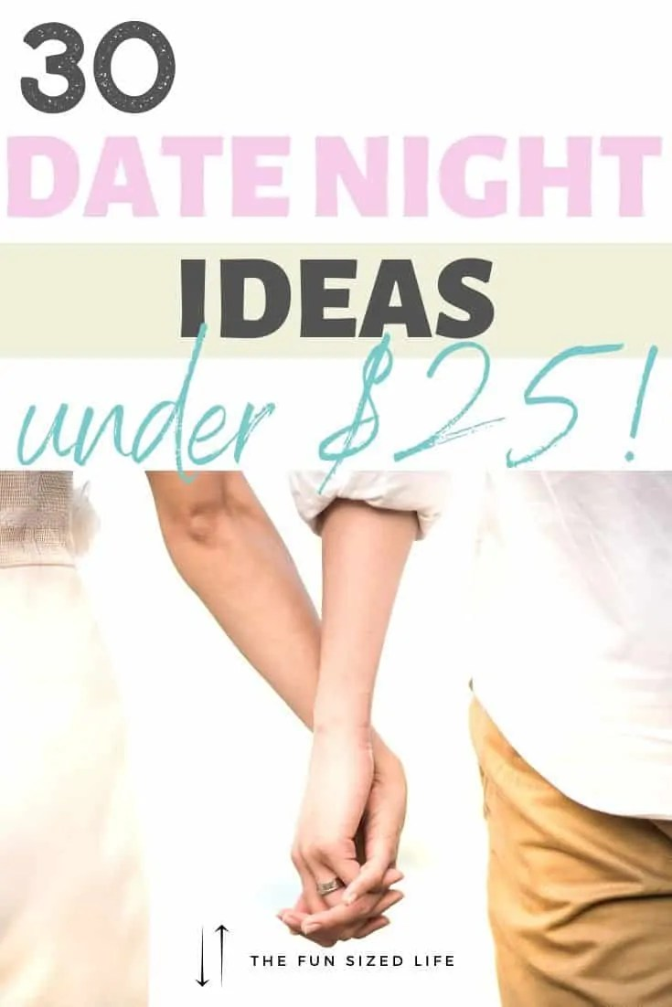 Who says you can't go on date nights when you're on a budget? Check out these 30 fun, affordable date night ideas for any kind of couple!