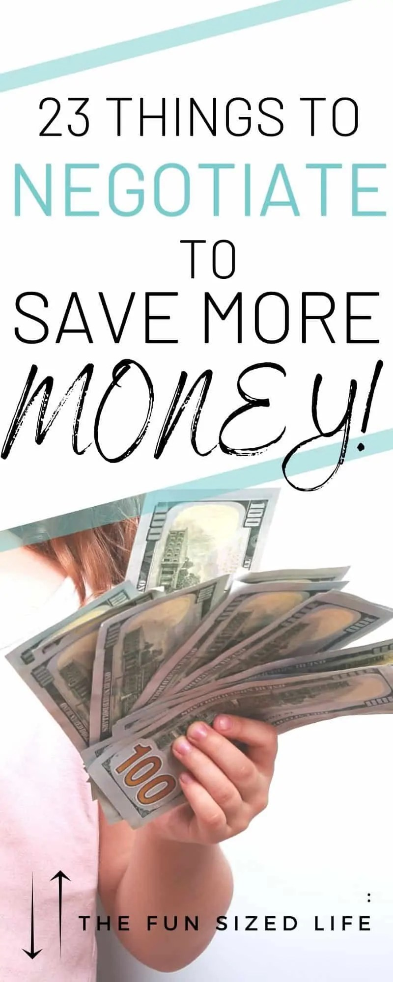 There are many ways you can negotiate to save money in several areas of your life. This list breaks down 22 surprising things you can start negotiating.