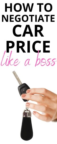 Negotiating for a lower price on a used car can be an intimidating thing. Especially, for women. Check out these must-have negotiation tactics before buying