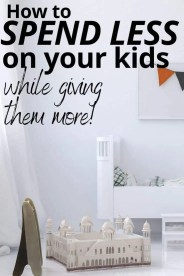 How to Stop Overspending on Your Kids Clothes and Toys