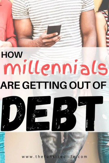 Millennials are fed up with debt - Know how they are getting rid of it! To pay off debt for good is something millennials are taking seriously. Here's how.