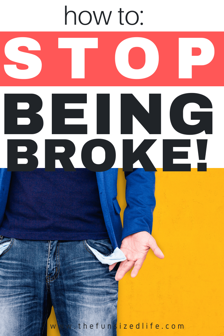 5 steps to stop being broke and start building wealth