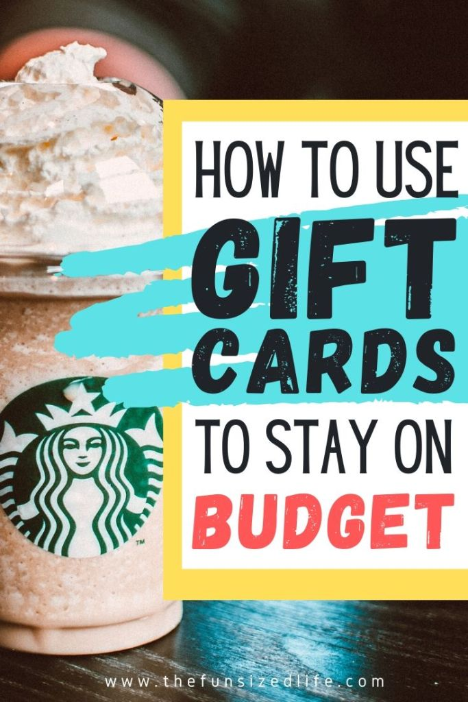Using Gift Cards to Budget. Stay on Track and Avoid Over-Spending