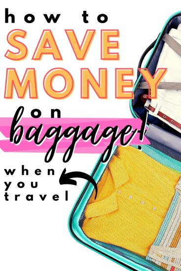 As you start planning your next trip, here are some ways to save money by avoiding baggage costs that weigh you down!