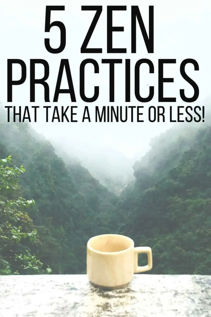 How do I practice mindfulness when I feel anxious and gratitude when I'm depressed? 5 tools to help you stay zen in a busy, stressful world!