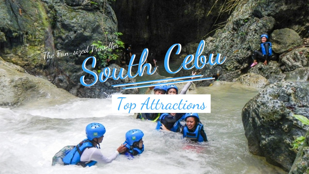 TOP 5 SOUTH CEBU ATTRACTIONS (with itinerary and budget)