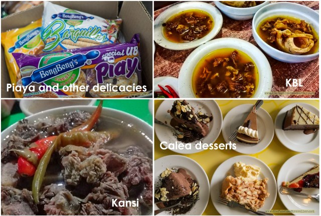 Bacolod delicacies