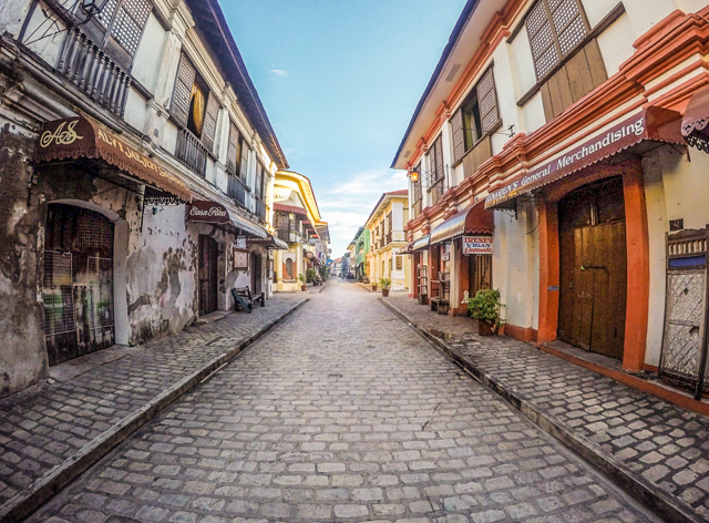 Vigan Tourist Spot In Philippines Drawing