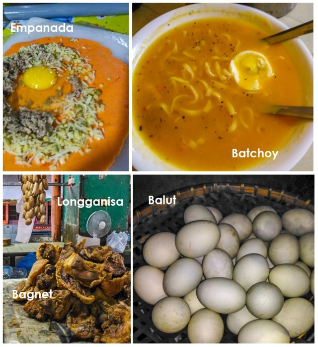 Some favorite Ilocano cuisines.