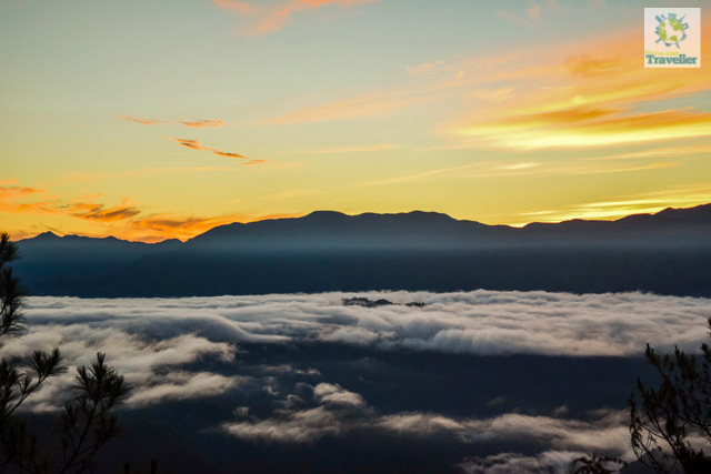 Sunrise at Kiltepan viewpoint