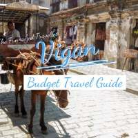 VIGAN BUDGET TRAVEL GUIDE (with DIY itinerary, top attractions, tips and how to get there)