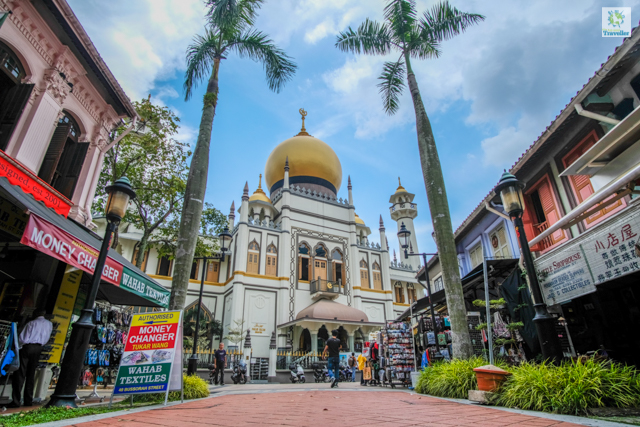 Masjid Sultan Mosque at Arab Street in Kampong Glam.