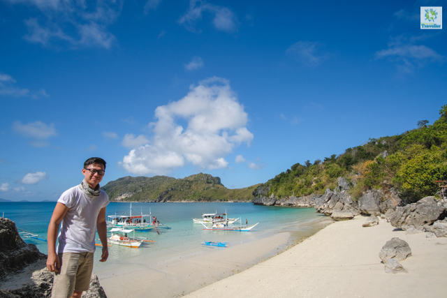 "Tinagong Dagat or ""Little Boracay"" of Antonia Island at Gigantes."