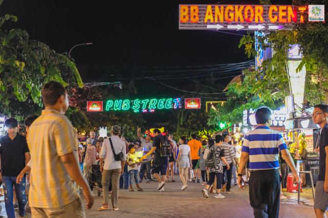 Night Market in Siem Reap