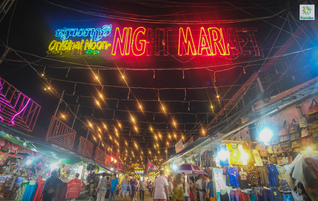 Another night market in SIem Reap
