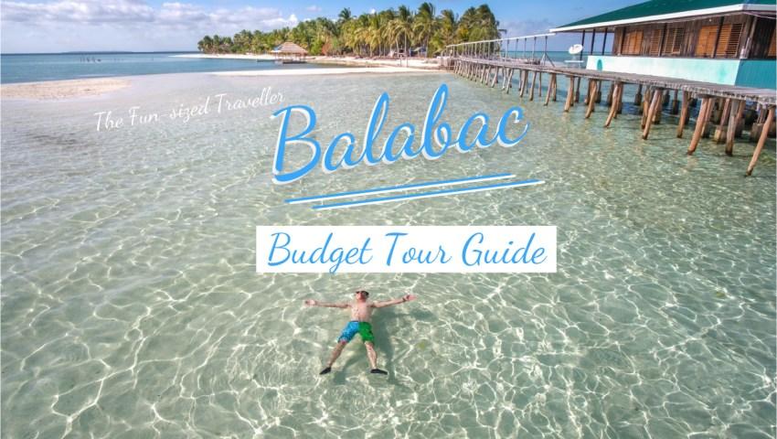 Balabac DIY Itinerary