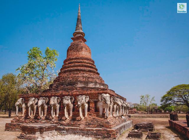 Wat Sorasak of Sukhothai Historical Park