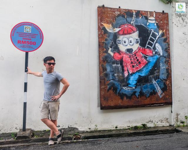 Penang Street Art at Georgetown
