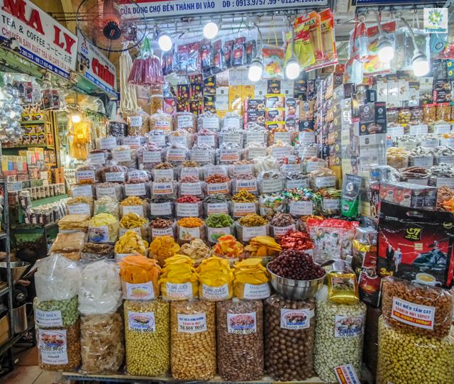 Ben Thanh Market.