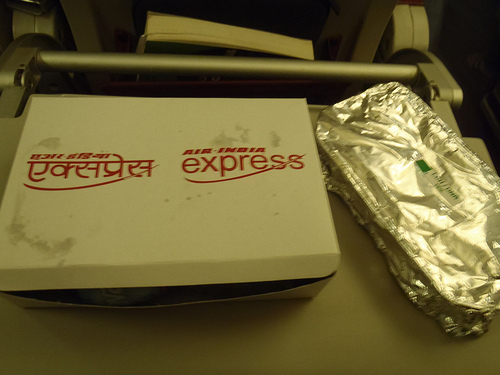 Air India Express meal