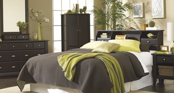 Sauder Shoal Creek 3 Piece Bedroom Set 3p Sh Jw Sauder The Furniture Co