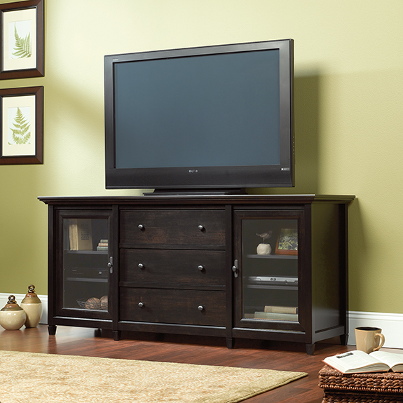 sauder edge water credenza tv stand - Sauder Tv Stands