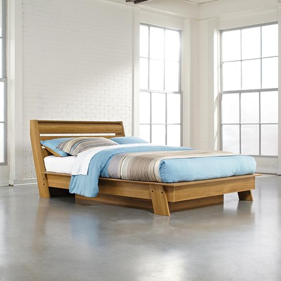 Sauder 415138 Soft Modern Queen Platform Bed Sauder