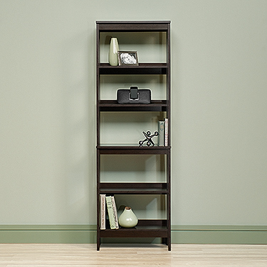 Sauder 418455 Beginnings 5 Shelf Trestle Bookcase The