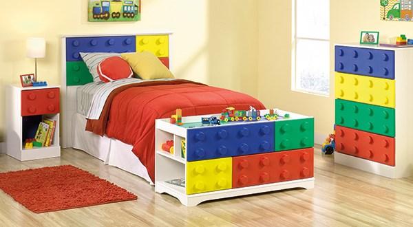 Sauder Primary Street 4 Piece Bedroom Set Sps4pbs Sauder The Furniture Co