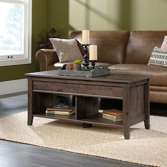 Sauder Carson Forge Coffee Table 420421 Sauder The Furniture Co