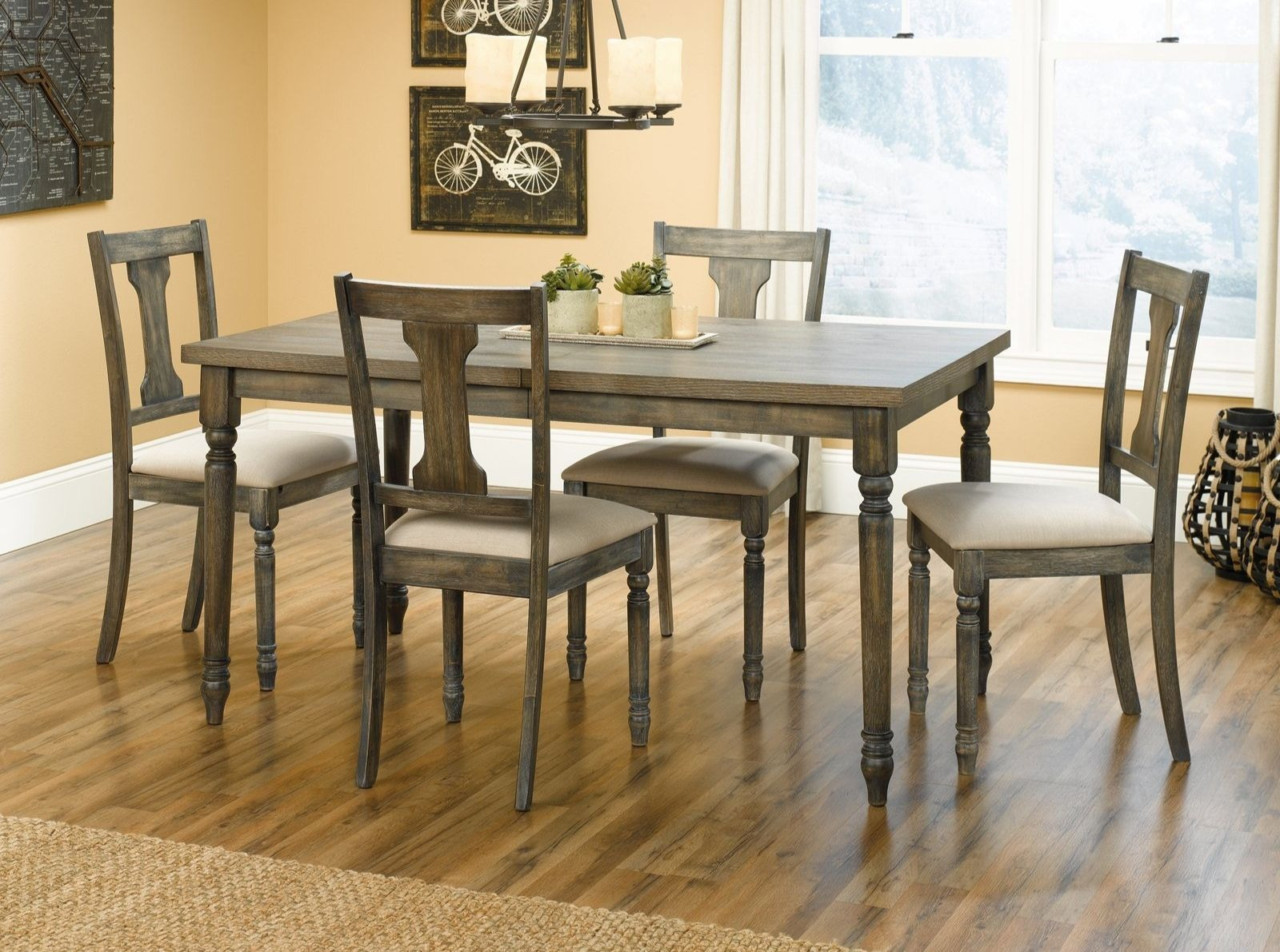 Sauder Barrister Lane Dining Set (417913 14)