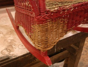 Wicker expertly replaced