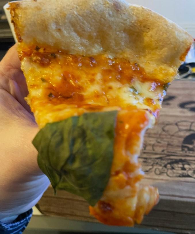 Cafe Topolis Pizza Slice