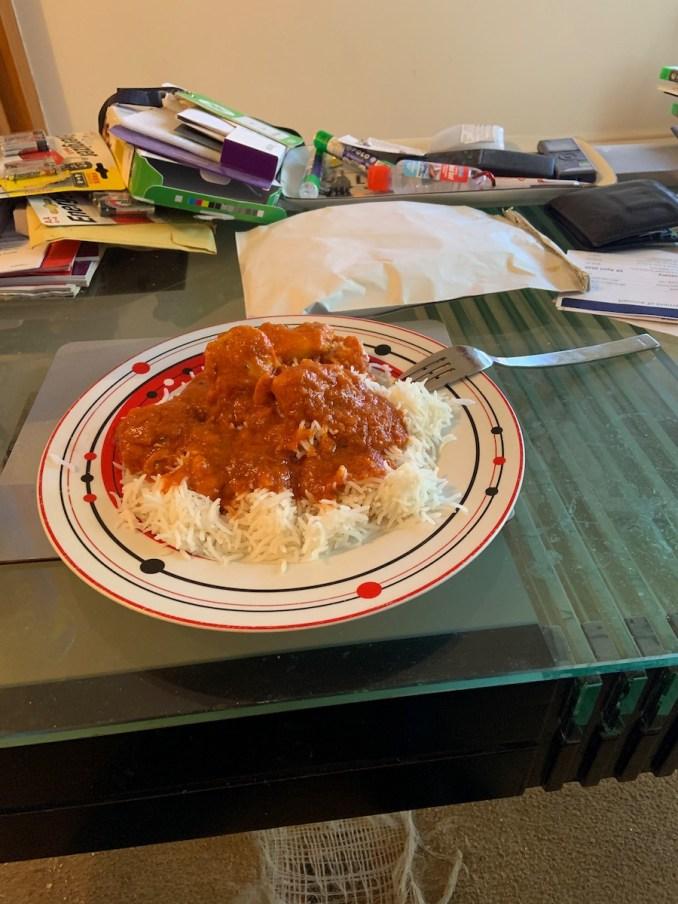 Kathmandau kitchen Chicken Vindaloo
