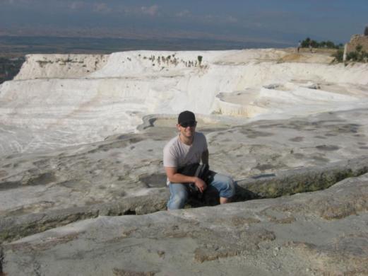 limestone terraces Pamukkale turkey