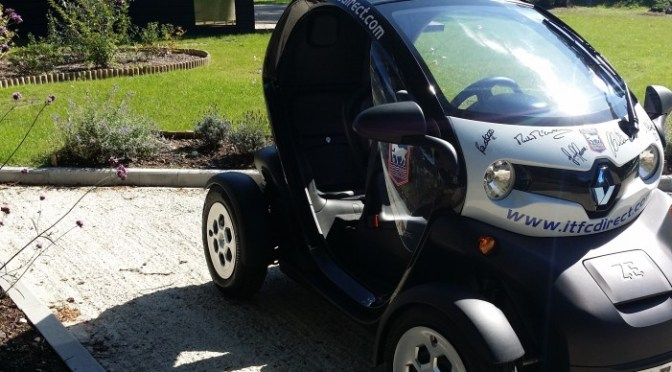 The Renault Twizy from Bristos