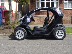 Renault Twizy from the side