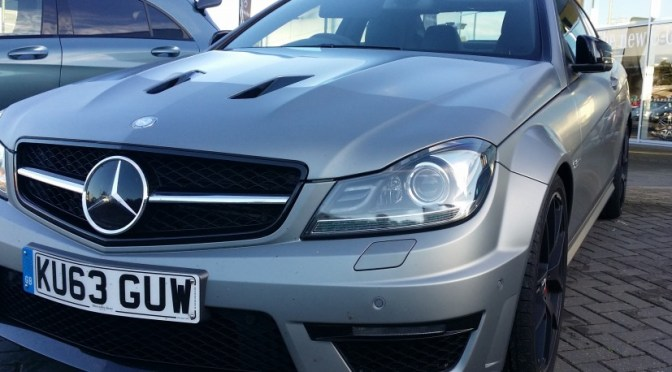 C63 AMG Edition 507 – To Insanity & Beyond!
