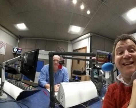 Mark Murphy and Matt Porter Wide Selfie