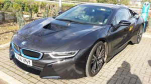 BMW i8 from the front