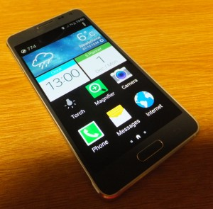 Samsung Galaxy Alpha in Easy Mode