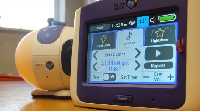 All bases are covered with the BT Video Baby Monitor 7500 Lightshow