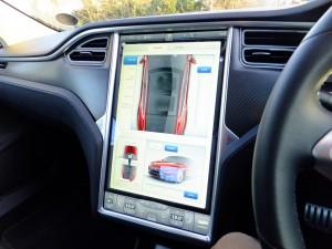 Tesla Model S Centre Console