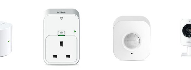 D-Link myhome - Smart Plug, Motion Sensor, Home Monitor and Music Everywhere