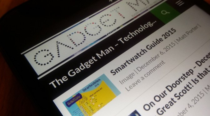 The Gadget Man – Episode 79 – Motorola Moto G (3rd generation) from Three
