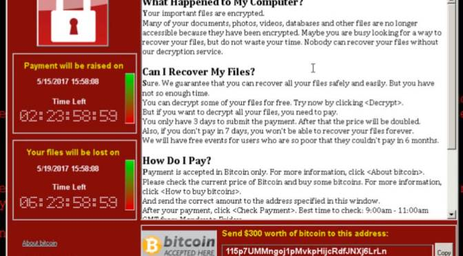 WannaCry Ransomware – How To Protect Yourself