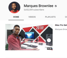 Big Hitters such as MKBHD and Casey Neistat will continue to reap the rewards of monetisation