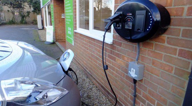 Public Charge Point - Image Credit: Matt Porter