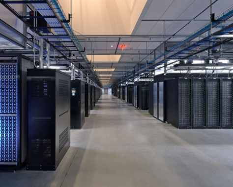 Facebook Datacenter - Image Credit: Facebook Inc.